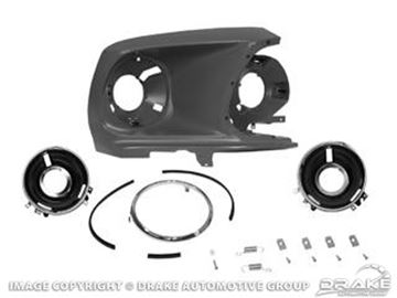 Picture of 1969 Headlamp Bucket Assembly (RH) : C9ZZ-16018-R