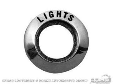 Picture of 64-66 Light Switch Bezel : C4DZ-10852-B