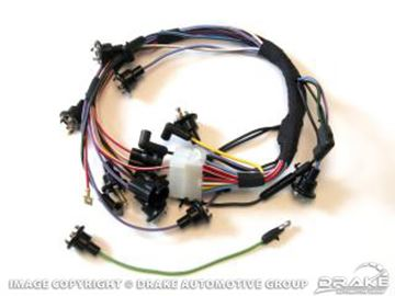 Picture of 67 Instrument cluster feed loom : C7ZZ-14401-ICF