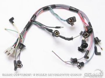 Picture of 68 Instrument cluster loom w/tach : C8ZZ-10B942TACH