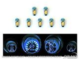Picture of 1969-70 Mustang Instrument Panel LED Light Bulb Set : SD-6970-GA-BL