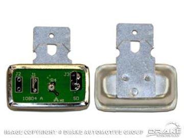Picture of 1967-68 Mustang Instrument Voltage Regulator : C6DZ-10804-EADJ