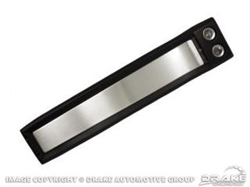 Picture of 67 Fastback Overhead Console (Black) : C7ZZ-63519A58BK