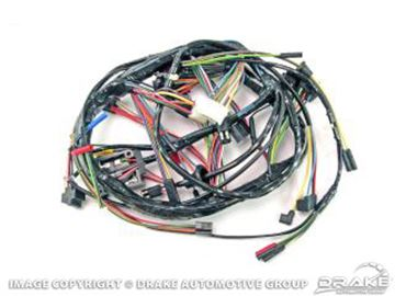 Picture of 1968 Underdash Harness with Foglamp : C8ZZ-14401-STDF