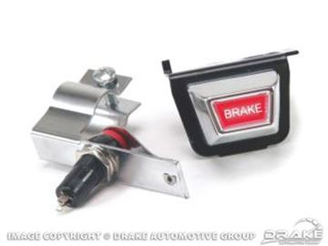Picture of 1967-68 Mustang Parking Brake Warning Light Kit : C7ZZ-15A852-A