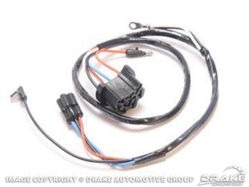 Picture of 65-66 Wiper motor under dash 1sp loom : C5ZZ-17B587-WL1