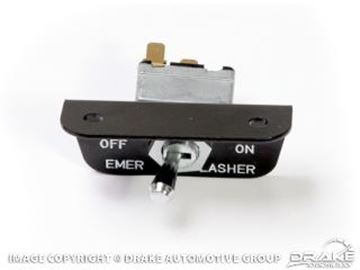 Picture of 1966 Mustang Emergency Flasher Switch (without pigtail, for late 1966) : C6AZ-13350