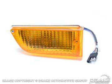 Picture of 71-72 Parking lamp assembly rh : D1ZZ-13200-A
