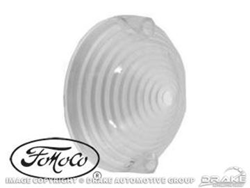 Picture of 1964 Parking Lamp Lens (White, Concours) : C5ZZ-13208-WTR