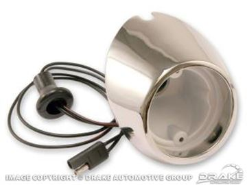Picture of 67-68 Backup Lamp Housing (RH) : C7ZZ-15511-BR