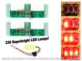 Picture of 1969 Mustang LED Sequential Tail Light Kit (Easy Install) : SD-6003-UB