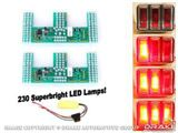 Picture of 1967-68 Mustang LED Sequential Tail Light Kit (Easy Install) : SD-6004-UB