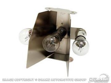 Picture of 1965-6 Taillamp 3-bulb Inserts : C5ZZ-STL-13400