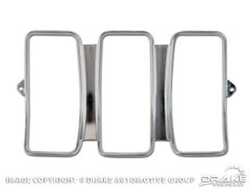 Picture of 1969 Mustang Tail Light Bezel (Stamped aluminum) : C9ZZ-13489
