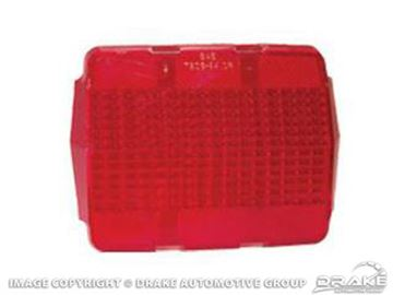 Picture of 64-66 Tail Light Lens : C5ZZ-13450-A