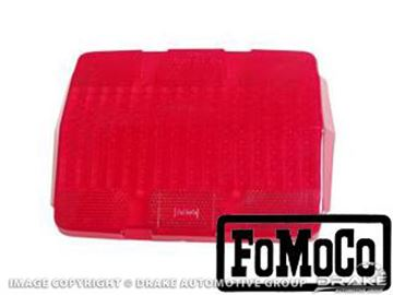 Picture of Tail Light Lens (With Fomoco Logo) : C5ZZ-13450-AR