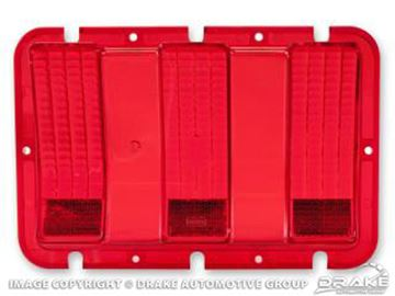 Picture of 67-68 Tail Light Lens : C7ZZ-13450-A