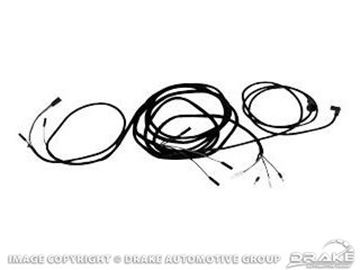 Picture of 68 Fastback Tail Light Wiring Harness : C8ZZ-14405-FB