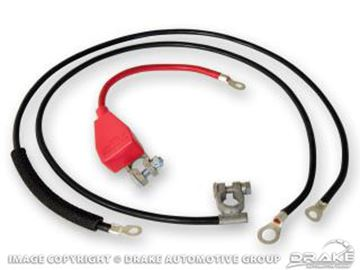 Picture of 64-66 Battery Cable Set (Economy) : C5ZZ-14300-E