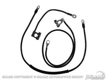 Picture of 1967 Concourse Battery Cable Set (8 Cylinder) : C7ZZ-14300-8