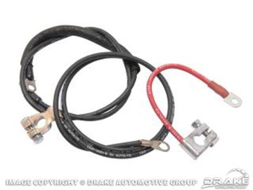 Picture of 68-69 Concours Battery Cable Set (6 Cylinder) : C8ZZ-14300-6