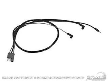 Picture of 67-68 Engine Gauge Feed Harness (Small Block with Tach) : C7ZZ-14289-SBWT