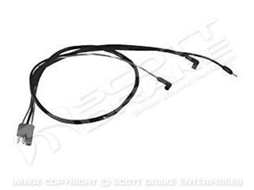 Picture of 1972 Mustang Engine Gauge Feed Harness (351-4V w/ Tach) : D2ZZ-14289-351T
