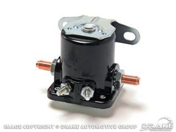 Picture of 64-73 Starter Solinoid (Aftermarket) : B6AZ-11450-A