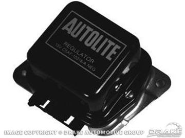 Picture of 1972 Voltage Regulator (with A/C) : D2TF-10316-A
