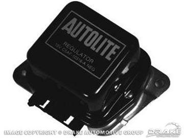 Picture of 1973 Voltage Regulator (without A/C) : D3AF-10316-A