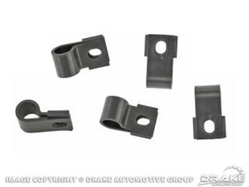 Picture of Underhood Turn Signal Harness Clips (Black) : 377774-S
