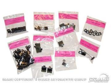 Picture of 1965-66 Mustang Wiring Clip Master Kit : C5ZZ-WCK
