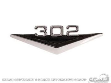 Picture of 64-66 302 Fender Emblem : C3OZ-16228-302