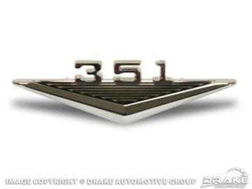 Picture of 64-6 351 Fender Emblem : C3OZ-16228-351