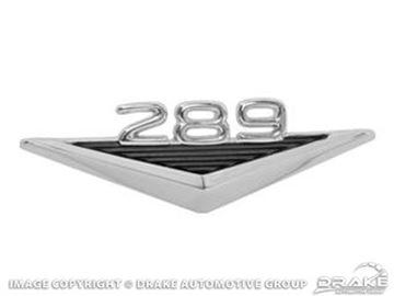 Picture of 64-66 289 Fender Emblem : C3OZ-16228-B