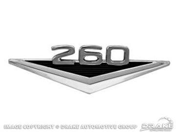 Picture of 260' Fender Emblem : C4DZ-16228-C