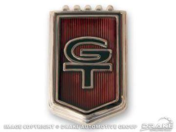 Picture of 1965 'GT' Fender Emblems : C5ZZ-16098-D