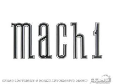 Picture of 1970 Mach 1 Rocker Emblem Set : D0ZZ-16003-K