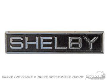 Picture of Shelby Fastback Roof Emblem : S9MS-16229-A