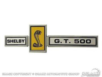 Picture of GT500 Grill Dash and Deck Emblem : S7MS-16098-D