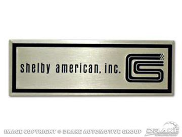 Picture of Shelby Door Sill Scuff Plate Emblem (Pair) : S1MS-6513208-T