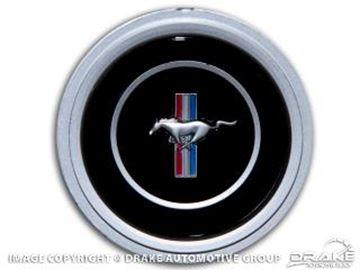 Picture of 1970-73 Mustang Deluxe Steering Wheel Emblem : D0ZZ-3649
