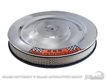 Picture of 1964-73 Mustang Air Cleaner (High Performance w/ 289 Decal) : C5ZZ-9600-W
