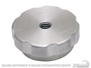 Picture of Billet Air Cleaner Knob (with Hole) : B-358871-B