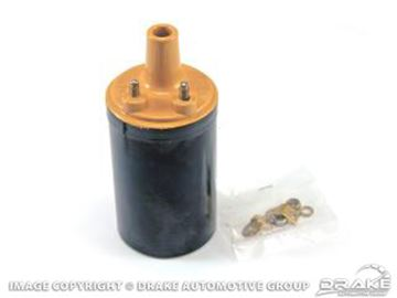 Picture of 1964-73 Ignition Coil, YELLOW TOP : B6A-12029-B