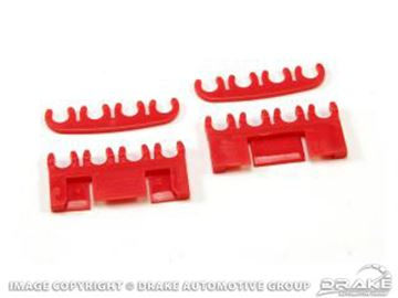 Picture of Spark-Plug-Wire Separator Set (Red) : B6AB8Q-12297-KR