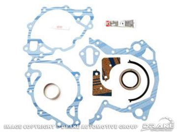Picture of Timing Chain Cover Gasket (260, 289, 302, 351W) : C4OZ-6020-A