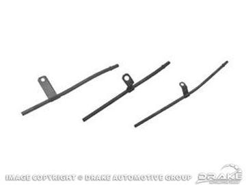 Picture of 66-67 Oil Dip Stick Tube (289 Chrome) : C6AZ-6754-C