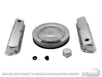 Picture of 64-73 Engine Dress Up Kit (Chrome) : C5ZZ-6980