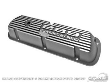 Picture of 289 Aluminum Valve Covers (Pair) : 6A582-289